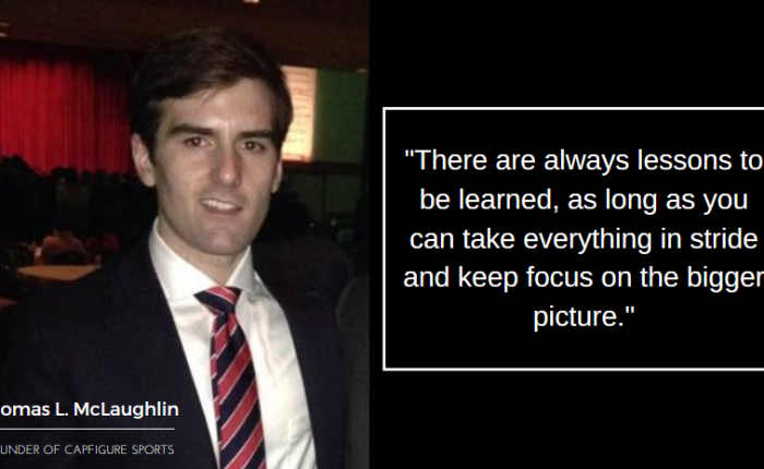 An Interview with Thomas L. McLaughlin: Founder of CapFigure Sports | StartupSavant