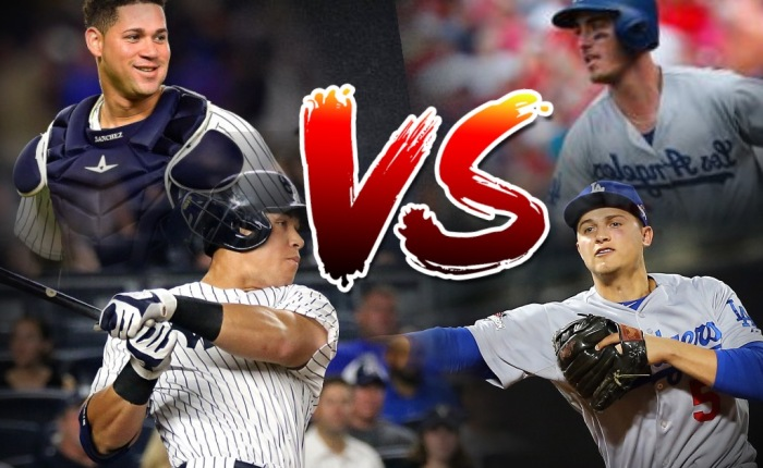 """Aaron Judge & Gary Sanchez or Cody Bellinger & Corey Seager"" from CapFigure Podcast (Episode 61)"